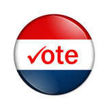 Botón del voto libre illustration