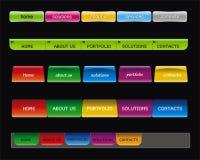 Botón del Web libre illustration