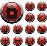 Botón del Web stock de ilustración