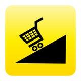 Botón del Web de la promoción Fotos de archivo