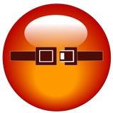 Botón del Web del cinturón de seguridad Imagenes de archivo