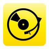 Botón del Web del jugador de registro Fotos de archivo libres de regalías