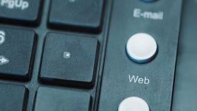 Botón del web en el teclado metrajes