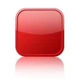 Botón en blanco rojo libre illustration