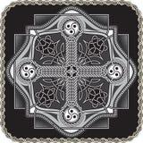 Botón en de estilo celta Fotos de archivo