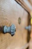 Botón en un pecho de la oficina Fotografía de archivo libre de regalías