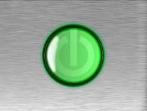 Botón encendido-apagado Fotografía de archivo libre de regalías