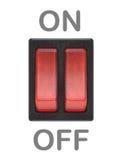 Botón encendido-apagado Fotografía de archivo