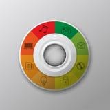 Botón moderno del interfaz