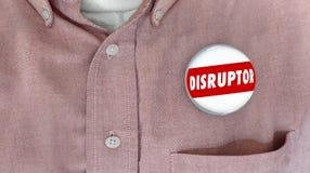 Botón Pin Change Agent Innovator del interruptor Imagen de archivo