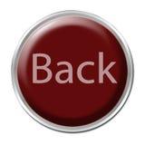 Botón posterior Imagen de archivo