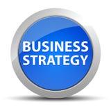 Botón redondo azul de la estrategia empresarial libre illustration