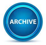 Botón redondo azul del globo del ojo del archivo ilustración del vector