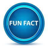 Botón redondo azul del globo del ojo del dato divertido ilustración del vector