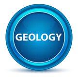 Botón redondo azul del globo del ojo de la geología ilustración del vector