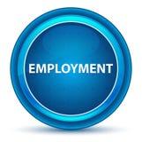 Botón redondo azul del globo del ojo del empleo stock de ilustración