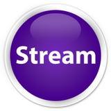 Botón redondo púrpura superior de la corriente libre illustration