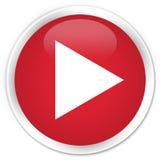 Botón redondo rojo superior del icono del juego libre illustration
