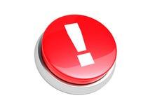 Botón rojo. stock de ilustración
