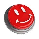 Botón rojo Foto de archivo libre de regalías
