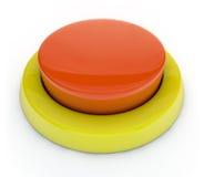 Botón rojo Fotografía de archivo libre de regalías