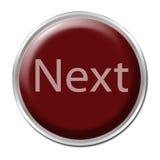 Botón siguiente Foto de archivo libre de regalías