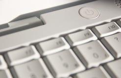 Botón Switch-on del ordenador fotografía de archivo libre de regalías