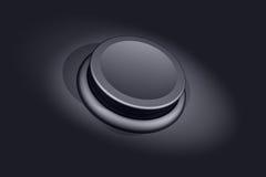 Botón vacío Fotografía de archivo