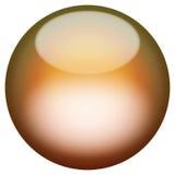 Botón vidrioso 3D stock de ilustración
