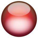 Botón vidrioso 3D libre illustration