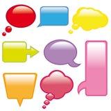 Botón. Web de Elementos Imagem de Stock