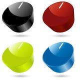 Botões Fotografia de Stock