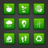 Botões ambientais Imagem de Stock Royalty Free