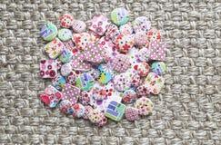 Botões coloridos Fotografia de Stock