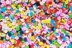 Botões coloridos, Clasper colorido Imagens de Stock Royalty Free