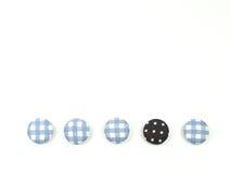 Botões coloridos da tela isolados Foto de Stock Royalty Free