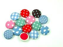 Botões coloridos da tela isolados Fotografia de Stock