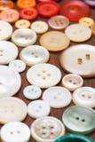 Botões coloridos macro Imagens de Stock Royalty Free