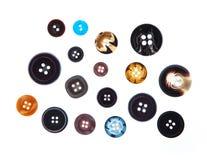 Botões da costura Imagem de Stock Royalty Free