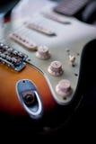 Botões da guitarra Fotografia de Stock