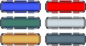 botões da Olá!-tecnologia Foto de Stock Royalty Free