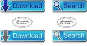 Botões da Web Foto de Stock Royalty Free