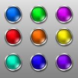 Botões da Web Ilustração do Vetor