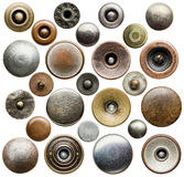 Botões das calças de brim Fotografia de Stock Royalty Free