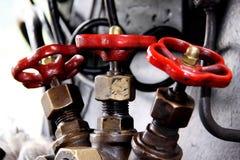Botões de controle locomotivos Fotos de Stock Royalty Free