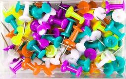 botões de escritório Multi-coloridos Fotografia de Stock