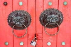 Botões de porta Imagens de Stock Royalty Free