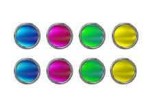 Botões de vidro Imagem de Stock