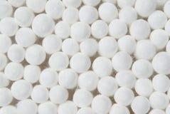 Botões do algodão. Fundo Imagens de Stock Royalty Free
