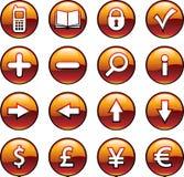 Botões do computador Imagem de Stock